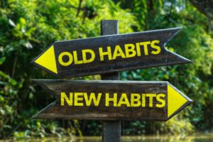 old and new habits