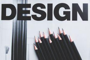 design catalogue black pencils